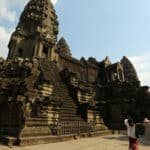 Tourism at Angkor. Source: Khmer Times 20200402